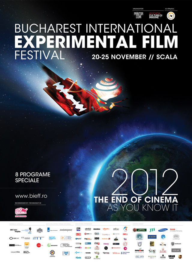 A început Festivalul Internaţional de Film Experimental Bucuresti (BIEFF) 2012, vezi program