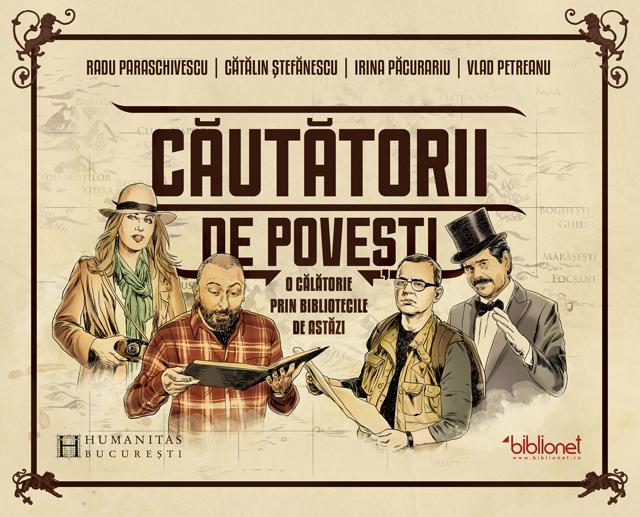 """""""Căutătorii de Povești"""", prima carte dedicată bibliotecilor publice din România @ programul Biblionet în România"""