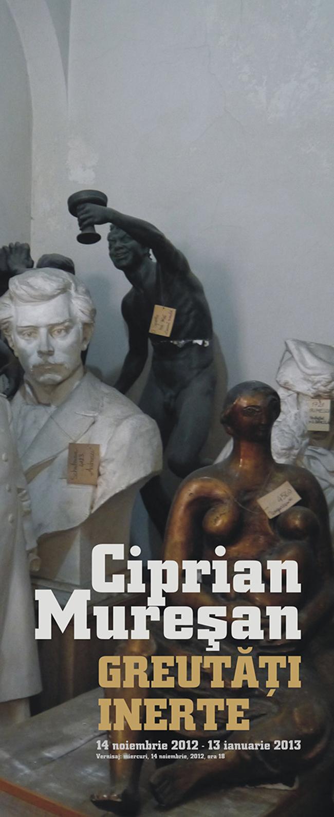 """Ciprian Mureşan """"Greutăţi inerte"""" @ Muzeul de Artă Cluj-Napoca"""