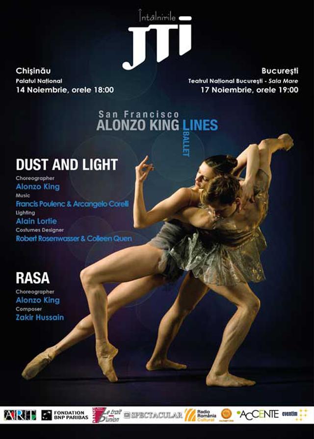 Lines Ballet din San Francisco @ Întâlnirile JTI, la Bucureşti