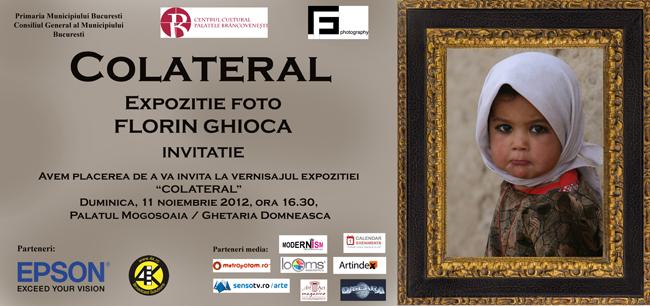 """Expoziţia de fotografie """"Colateral"""", Florin Ghioca @ Palatul Mogoșoaia, Gheţăria Domnească"""