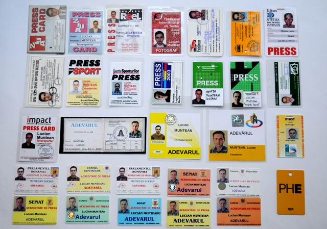 my press cards