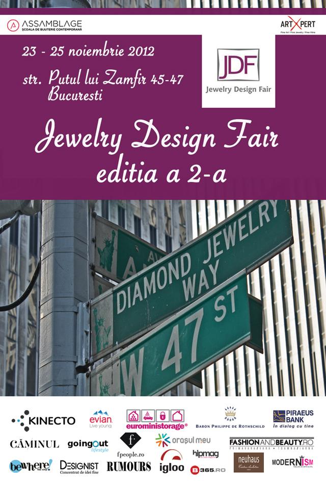 A doua ediţie a Jewelry Design Fair – design de bijuterie contemporană @ ArtXpert București