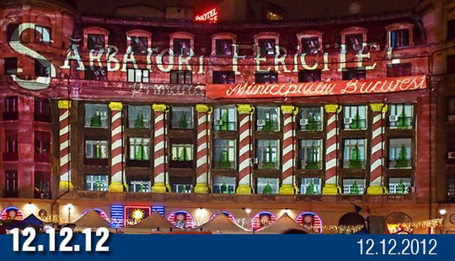 12.12.12 – sub lampioanele Bucureștiului