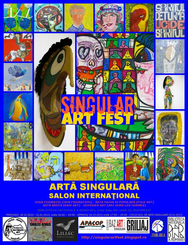 SINGULAR ART FEST, salon international @ Biblioteca Națională a României București