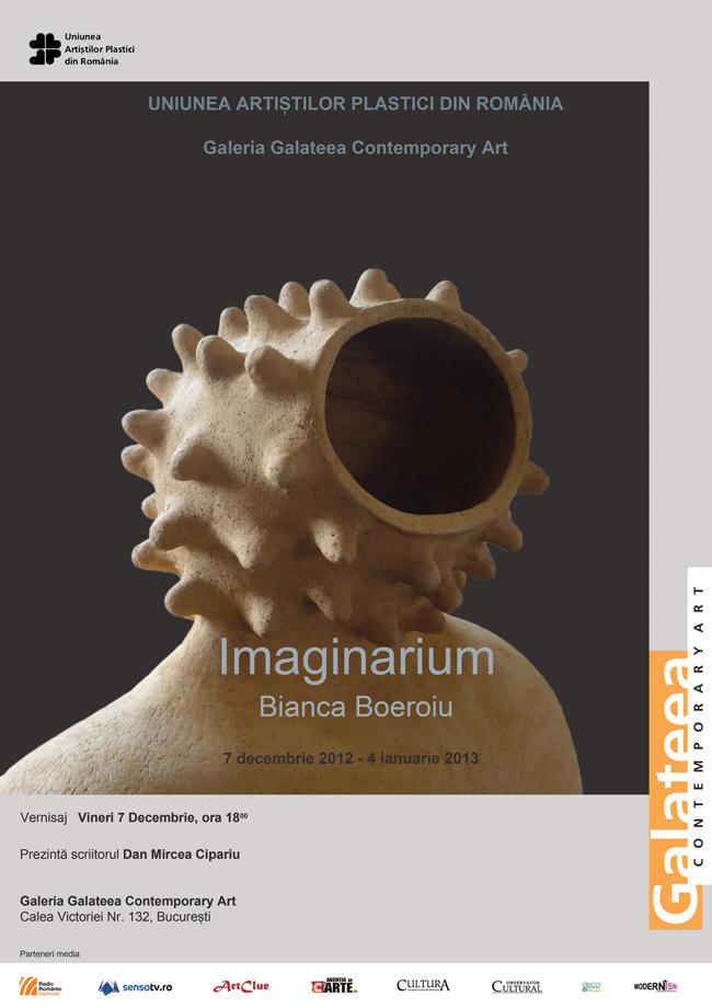 "Bianca Boeroiu ""Imaginarium"" @ Galeria Galateea, București"