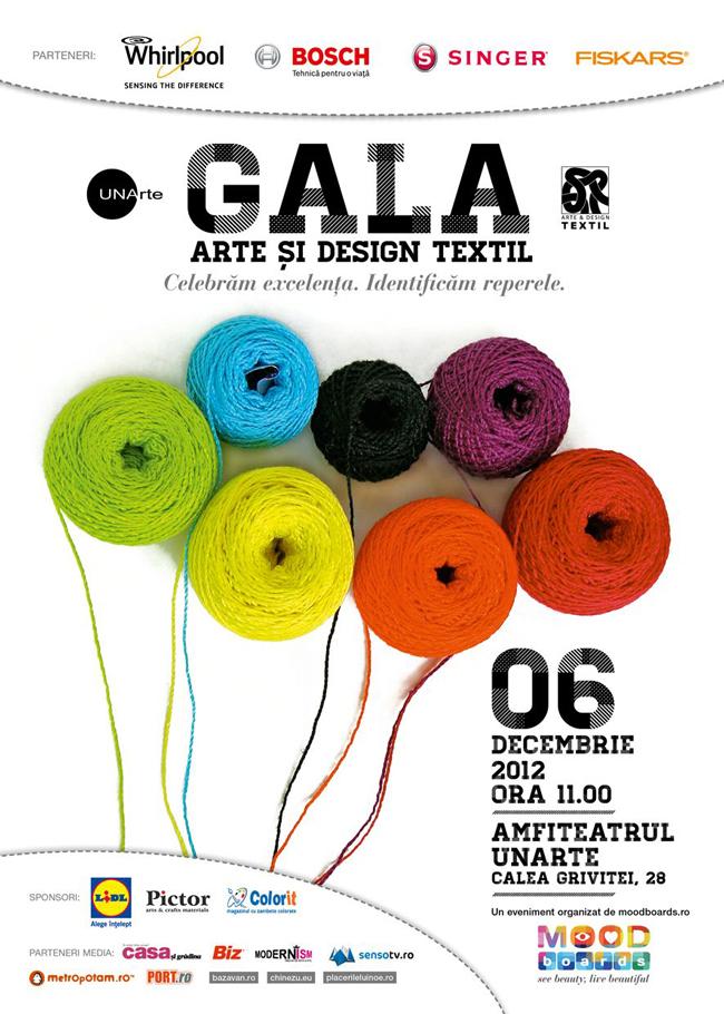Premiații Galei Arte și Design Textil 2012