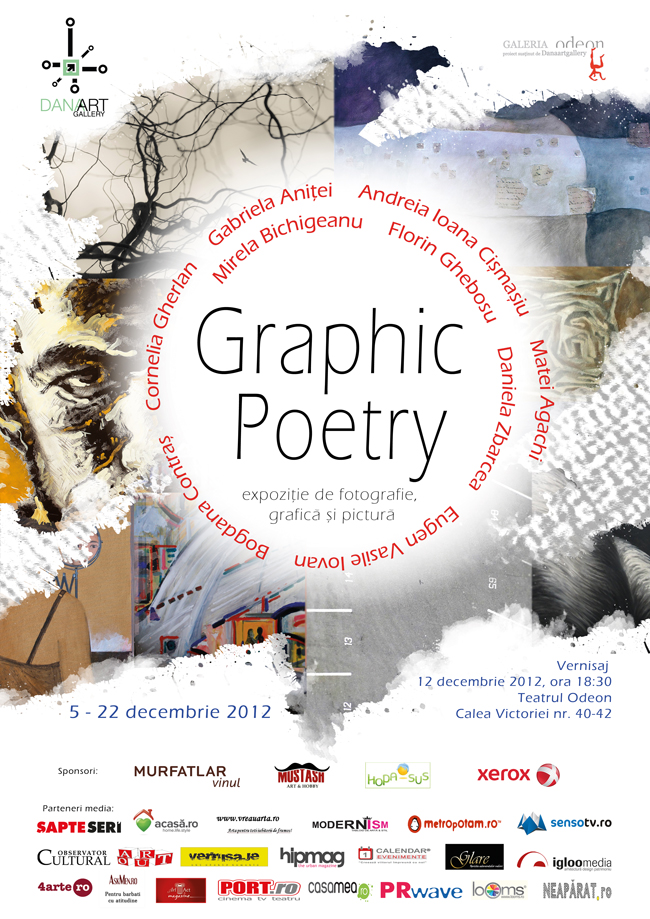 """Graphic Poetry"" @ Galeria Odeon, București"