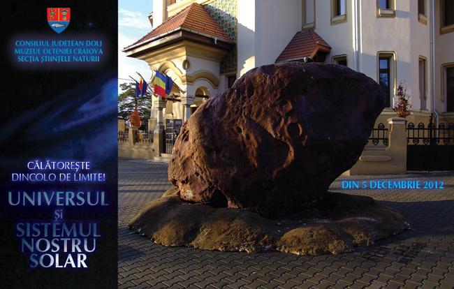 Noua expoziţie a Muzeului Olteniei Craiova – Universul şi Sistemul Nostru Solar!