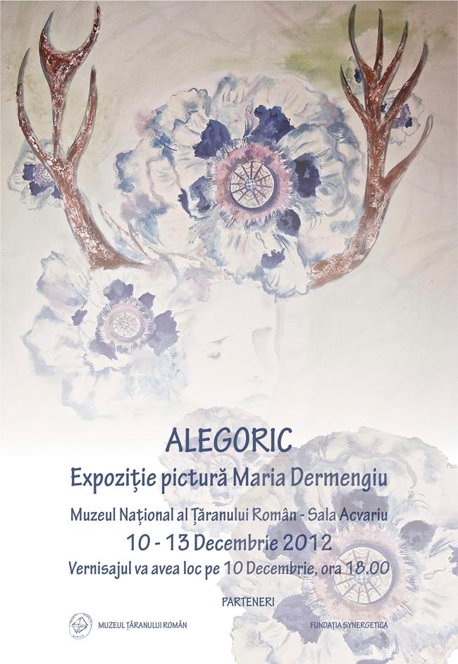 """Maria Dermengiu """"Alegoric"""" @ Muzeul Țăranului Român"""