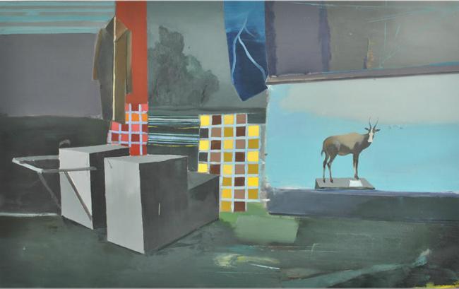 """Marius Bodea """"Without paper noise"""" – solo exhibition Chert, Berlin"""