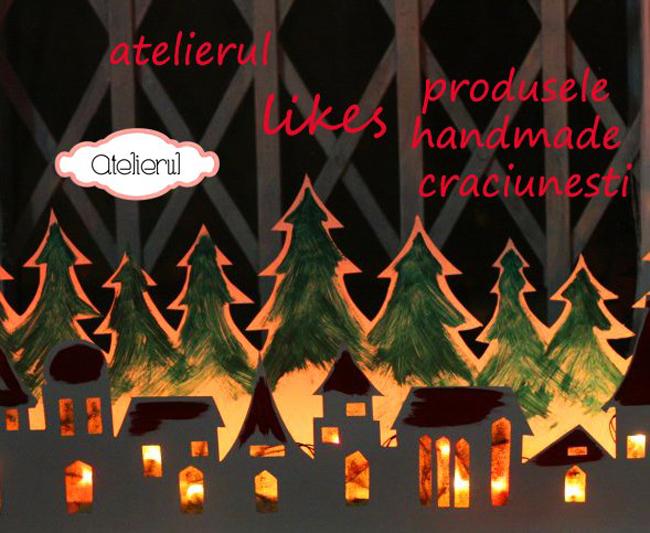 """Revista Atelierul propune """"203 idei de cadouri și decorațiuni pentru Crăciun"""""""