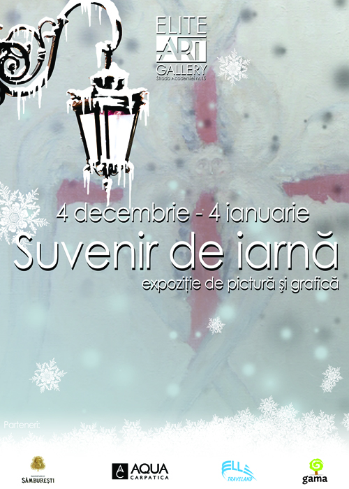 Suvenir de iarna  @ Elite Art Gallery