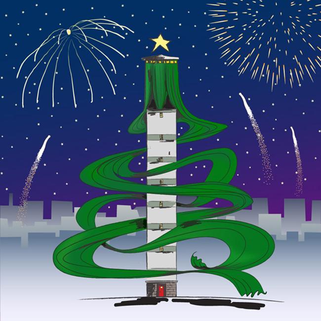 Revelionul Turnului de Apă, petrecerea de după sfârșitul lumii!