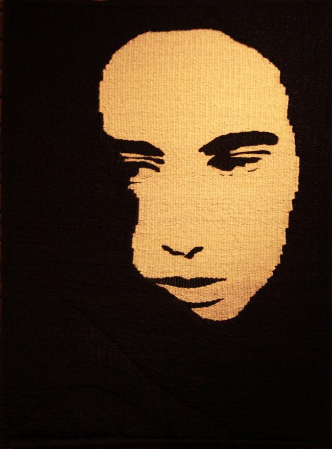 Autoportret – tapiserie @ Universitatea de Artă şi Design Cluj-Napoca, în parteneriat cu Academia de Muzică Gheorghe Dima