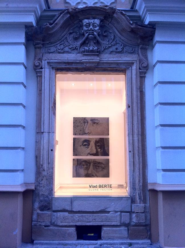 """Vlad Berte """"Clone Vector"""" @ galeria """"geam MAT"""" a Muzeului de Artă din Timișoara, galerie de imagini"""