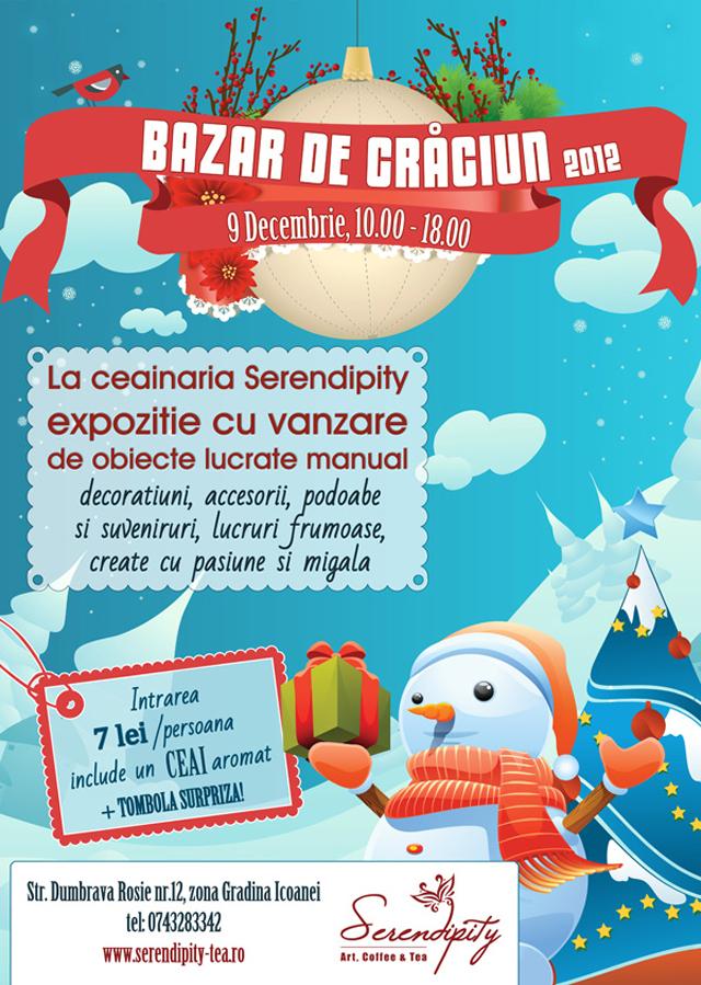 Bazar de Crăciun, artizani la a cincea ediție @ Ceainaria Serendipity