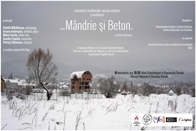 """""""Mândrie și Beton"""" – Lansare scurtmetraj documentar și site multimedia @ Muzeul Național al Țăranului Român"""