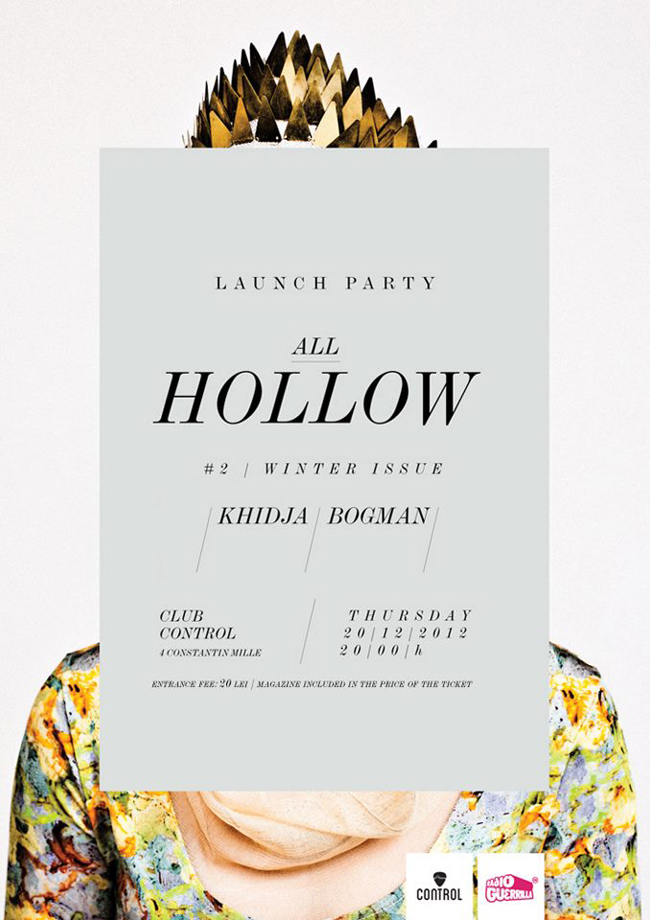 ALL HOLLOW # 2 Launch Party @ Control, București