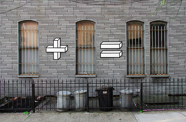 Sum Times: Clever Mathematical Street Art from Aakash Nihalani