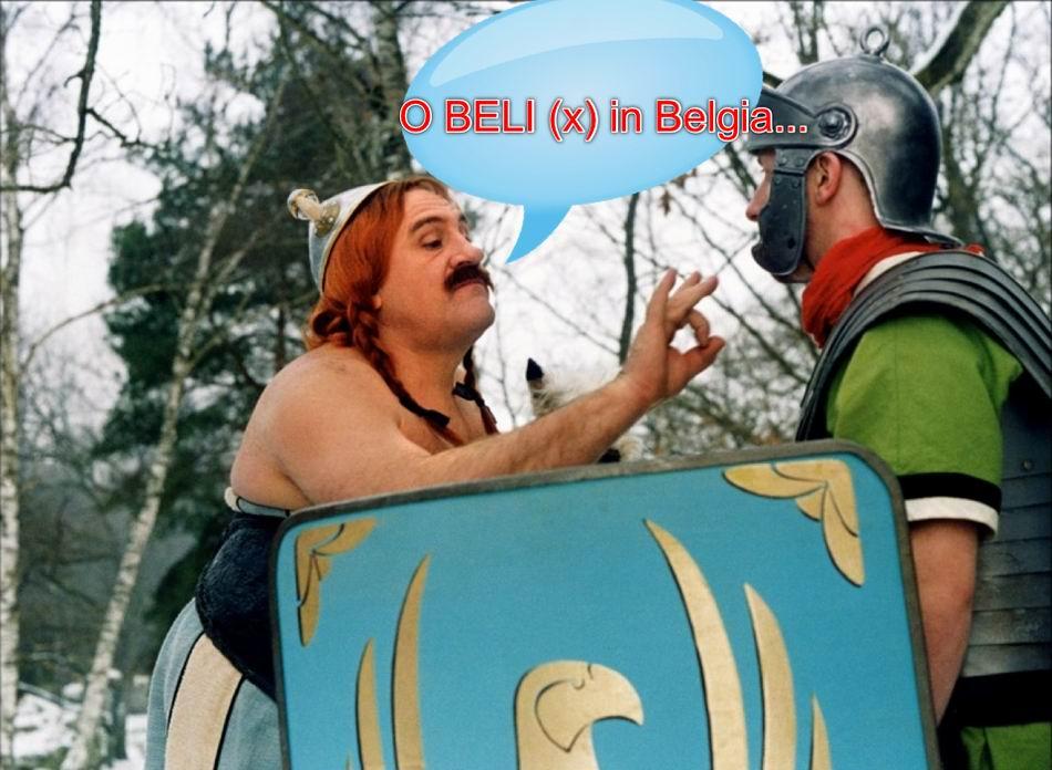 Gerard Depardieu in Belgia