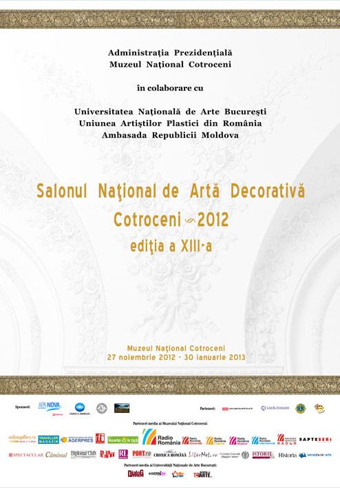 Salonul Naţional de Artă Decorativă Cotroceni 2012
