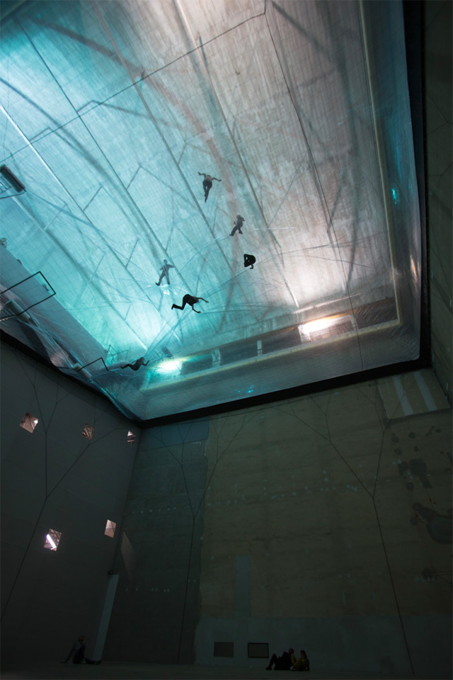 Face Your Fear of Heights by Walking on Air in this Massive Translucent Aerial Structure by Tomás Saraceno