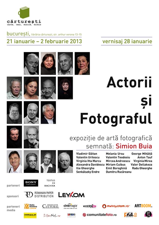 Actorii și Fotograful @ Cărtureşti, Verona, București