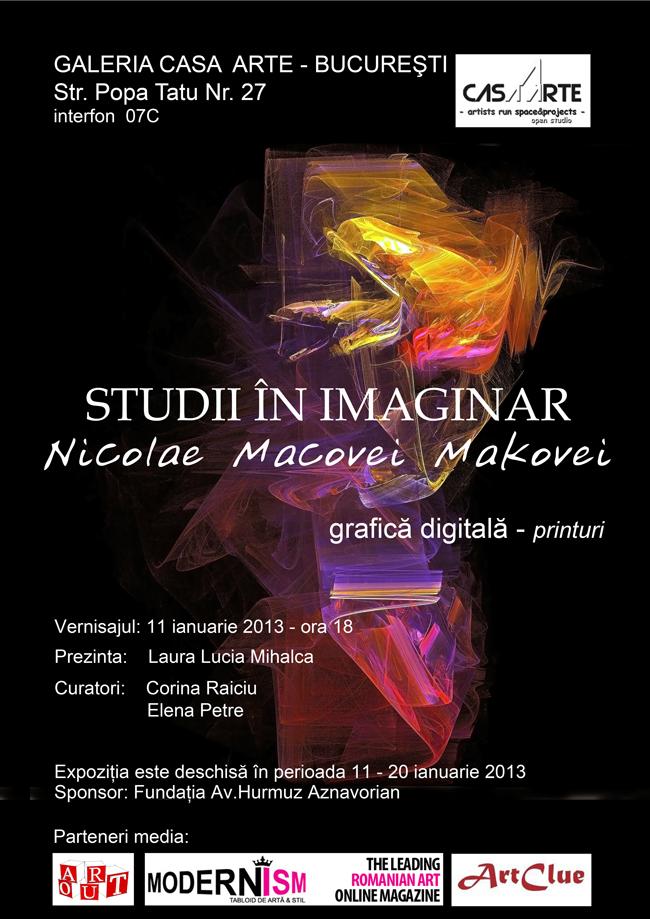 Open Studio cu Nicolae Macovei @ Casa Arte, București