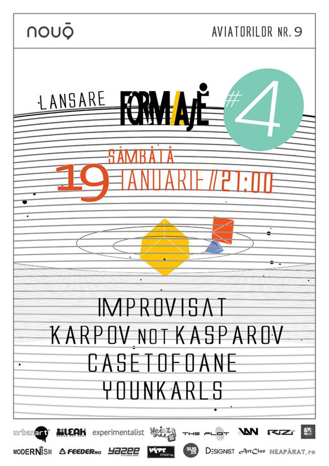 Revista Formaje lansează numărul 4