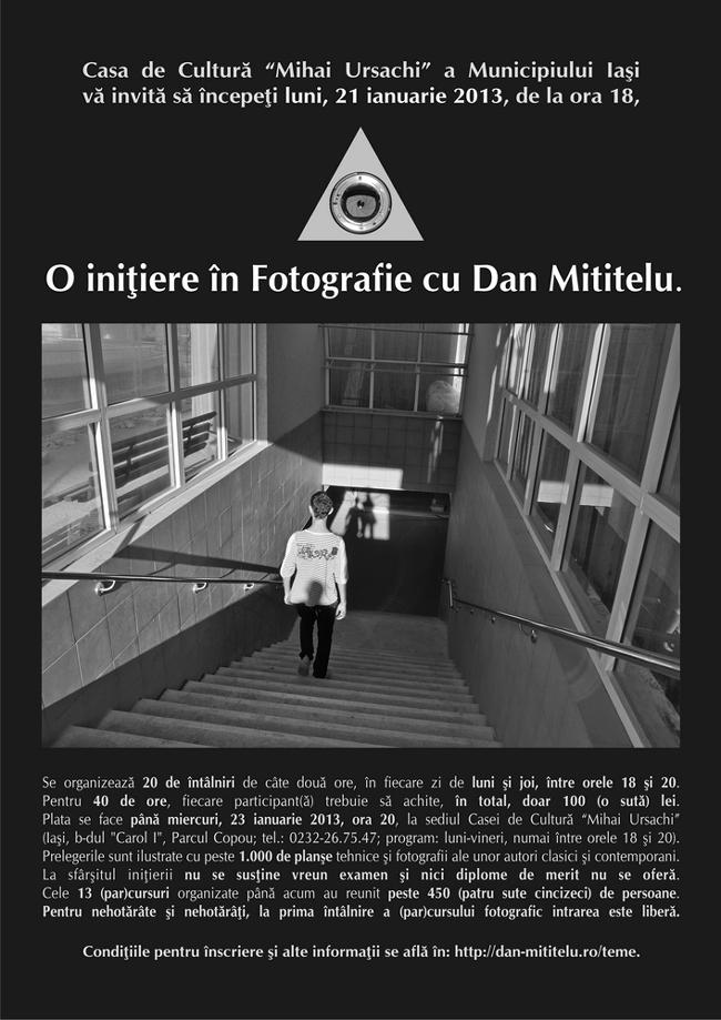 """Expoziţii de fotografie @ Casa de Cultură """"Mihai Ursachi"""" a Municipiului Iaşi"""