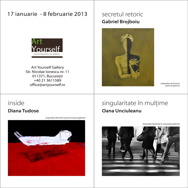 Art Yourself Gallery deschide seria de expoziții din 2013