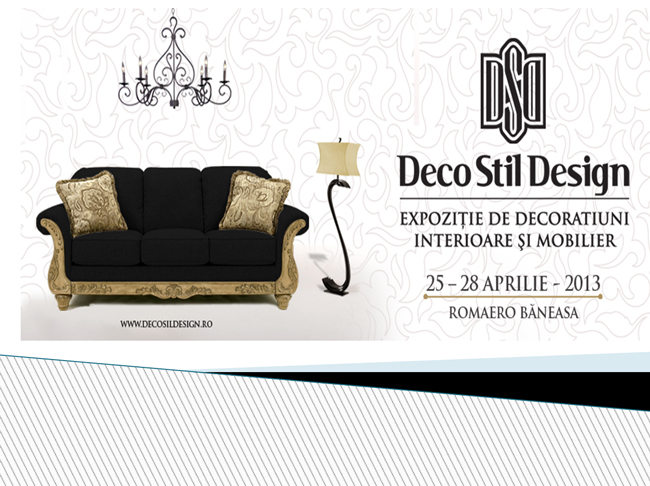 DECOSTILDESIGN, expoziție de decorațiuni interioare