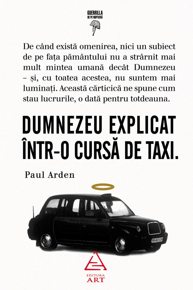 Dumnezeu explicat într-o cursă de taxi, a doua cea mai bine vândută carte din lume despre Dumnezeu