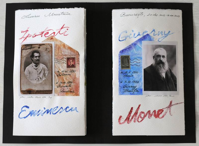 Eminescu & Monet, Ipoteşti via Giverny.