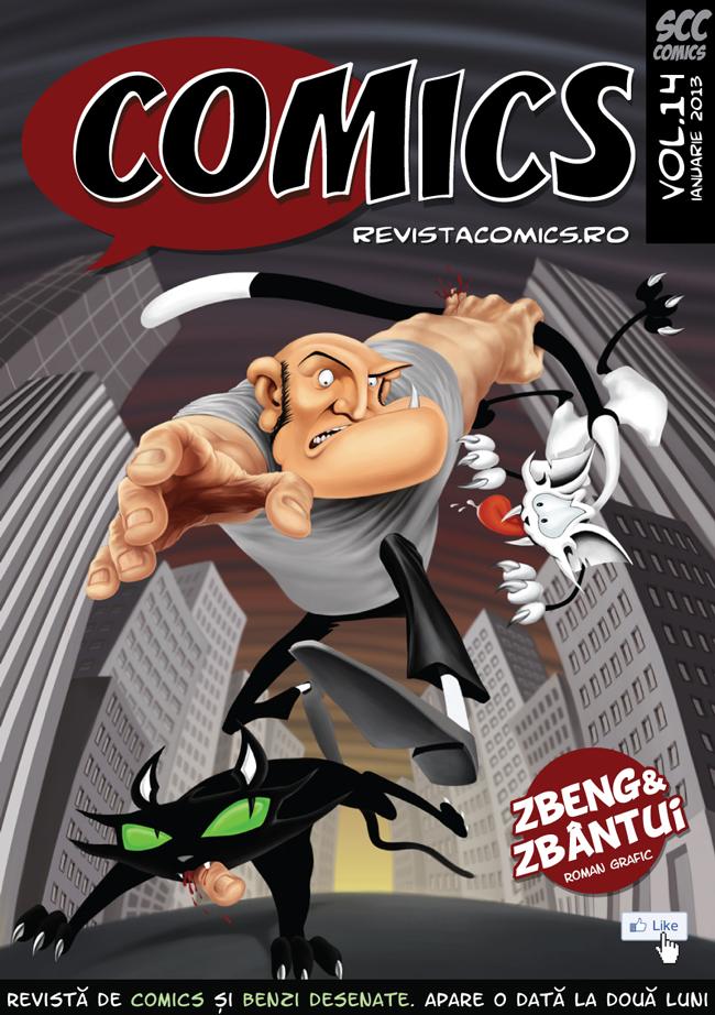 Revista COMICS nr.14 (ianuarie 2013)