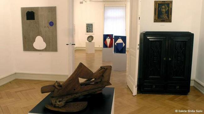 """Romanian artists abroad / The last 70 years"" @ Galeria Emilia Suciu, Ettlingen, Germania"