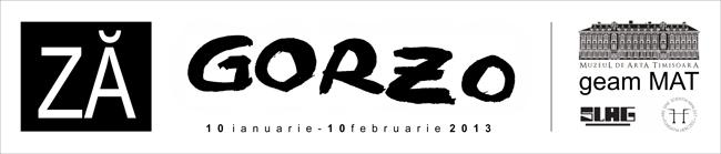 """Dumitru Gorzo """"ZĂ"""" @ galeria """"geam MAT"""" a Muzeului de Artă din Timișoara"""