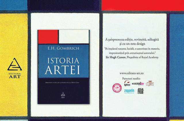 Istoria artei a lui Gombrich la Editura Art – recenzie