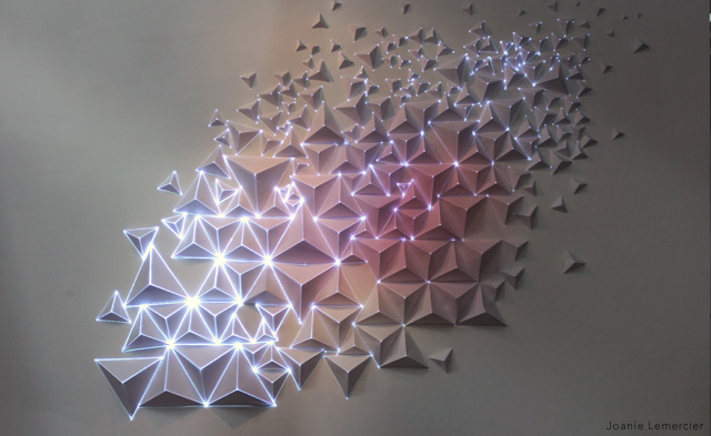 Origami Meets Projection Mapping