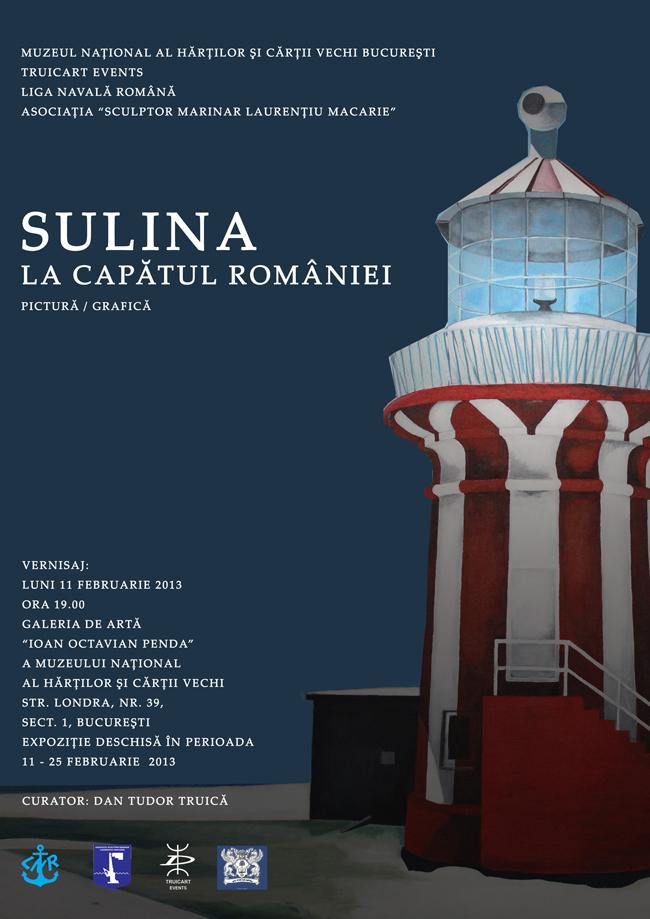 """""""Sulina – la capătul României"""" @ Muzeul Național al Hărților și Cărții Vechi București"""