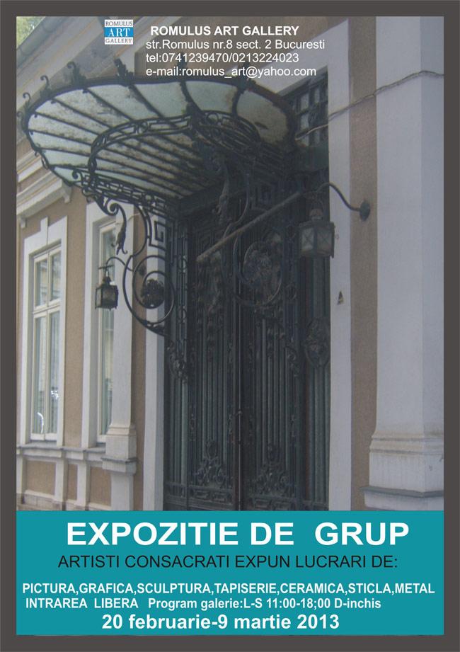 Expoziție de grup @ Romulus Art Gallery, București