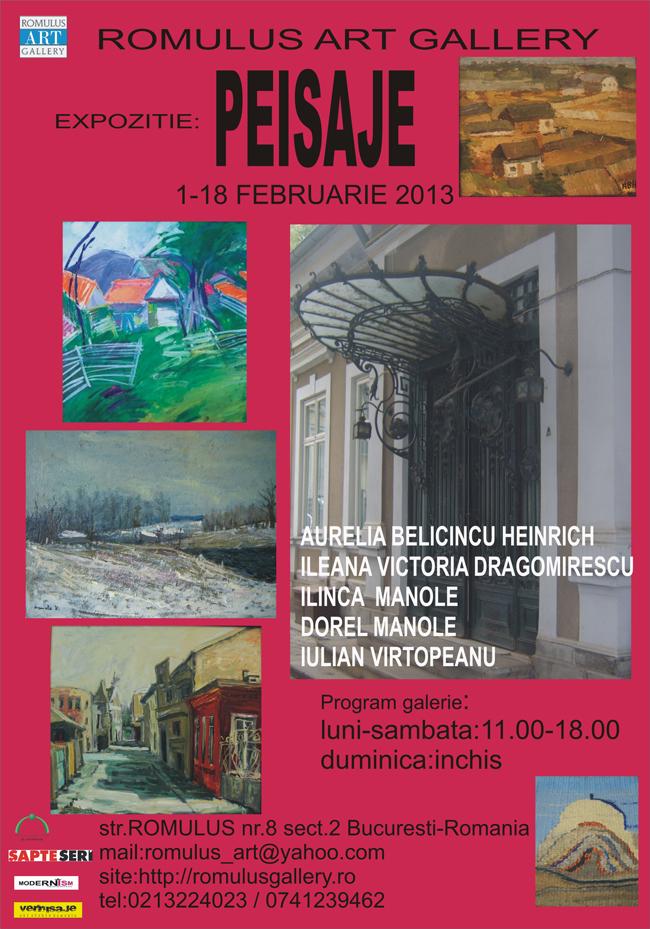 Peisaje @ Romulus Art Gallery, București