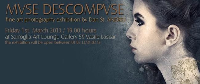 "Dan St. Andrei ""MVSE DESCOMPVSE"" @ Sarroglia Lounge Art Gallery"