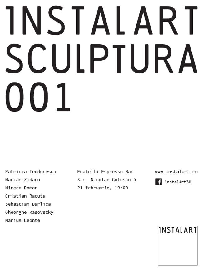 Instalart/ Sculptură/ 001- Prezentarea machetelor