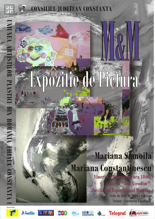 Mariana Samoilă și Mariana Constantinescu @ Galeria I.Nicodim, Constanța