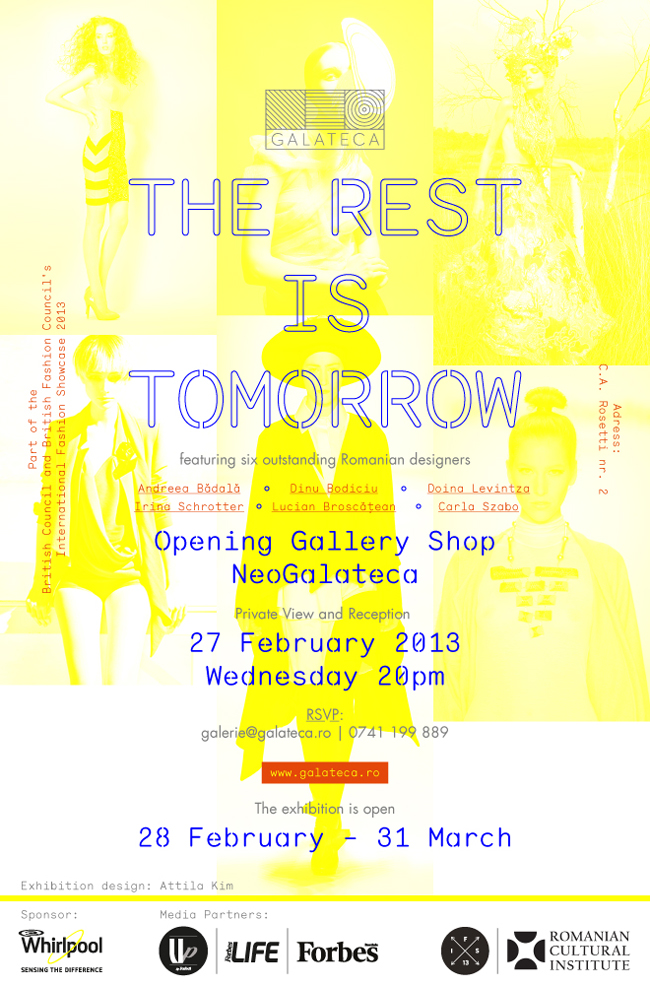 The Rest Is Tomorrow @ Galeria GALATECA, București