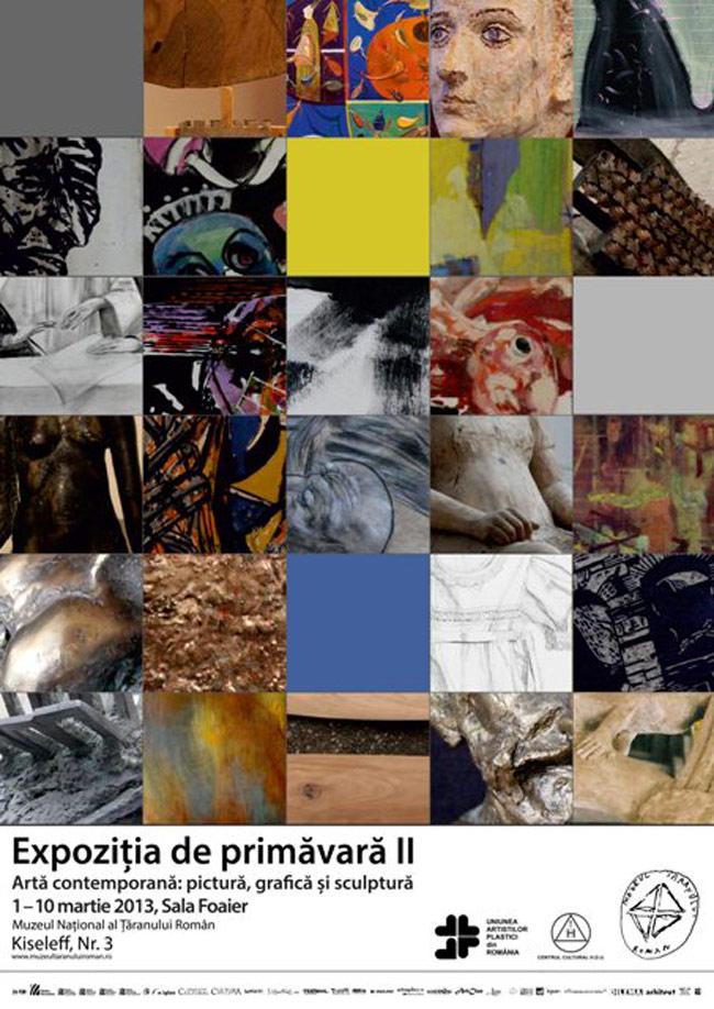 Artă contemporană: pictură, grafică și sculptură @ Muzeul Național al Țăranului Român