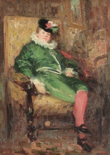 Colombina în verde – lucrarea disparută a lui Grigorescu