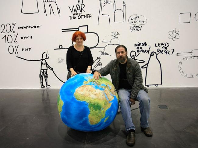 Lia și Dan Perjovschi laureații Premiului Prințesa Margriet al Fundației Culturale Europene